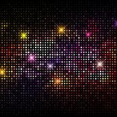 Disco-Lichter-Hintergrund — Stockvektor