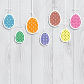 Easter egg background — Stock Vector