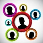 People avatars — Stock Vector #40300183