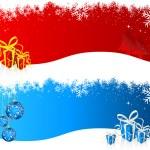 Noel arka planlar — Stok Vektör