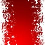 Grunge snowflakes — Stock Vector