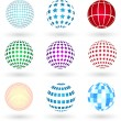 Spheres — Vector de stock #40356921
