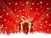 рождественский подарок — Cтоковый вектор