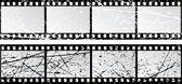Grunge film strips — Stock Vector