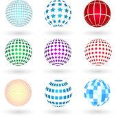 Spheres — Stock Vector