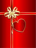 Sevgililer hediyelik — Stok Vektör