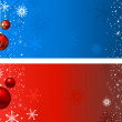 Christmas backgrounds — 图库矢量图片