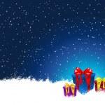 regali di Natale — Vettoriale Stock