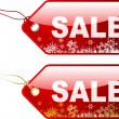 Christmas sale labels — Stock Vector #40535341