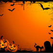 Grunge Halloween background — Stock Vector #40536837