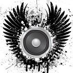 Grunge sound 0701 — Stock Vector
