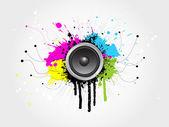 Grunge sound — Vetorial Stock