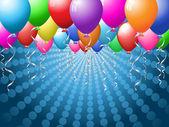 Balloon background — Stock Vector
