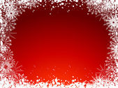 Noel kar tanesi arka plan — Stok Vektör