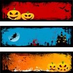 grunge halloween pozadí — Stock vektor #40601947