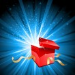 Open gift box — Stock Vector #40602769