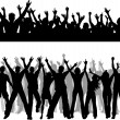 Vector de stock : Crowd scenes