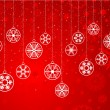 Vetorial Stock : Decorative snowflake background