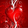 Wektor stockowy : Decorative Valentines background