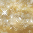 Stock Vector: Glittery gold background