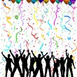 Vetorial Stock : Party background