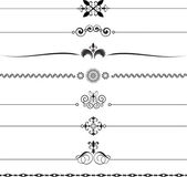 Decorative rules — 图库矢量图片