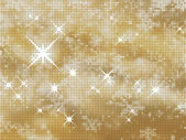 Glittery gold background — Stock Vector