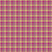 Pink plaid — Stock Vector