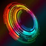 Abstract circular design background — Stock Vector