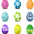 Stockvector : Easter eggs