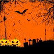 Grunge halloween background — Stock Vector #40708099