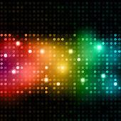 Disco lights background — Stock Vector