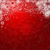 Sneeuwvlokken en sterren — Stockvector