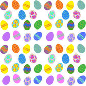 Easter Egg Background — Stock Vector