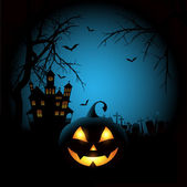 Tło upiorny halloween — Wektor stockowy