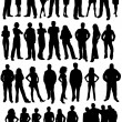 People collection — Stock Vector