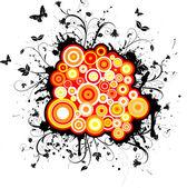 Kaotik doğası — Stok Vektör