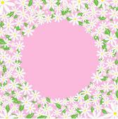 Daisy gränsen — Stockvektor