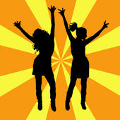 Party people — Vector de stock