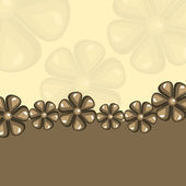 Flower background — Vettoriale Stock