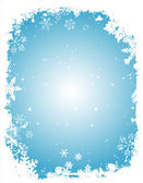 Гранжевые снежинки — Cтоковый вектор
