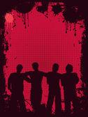 Juventude grunge — Vetorial Stock