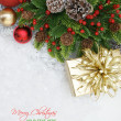 Merry Christmas background — Stock Photo #42914041