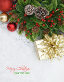 Merry Christmas background — Zdjęcie stockowe