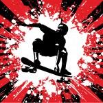 Skateboarder — Stock Vector #42948837