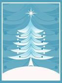 árvore de natal — Vetorial Stock