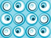 带圆圈背景 — 图库矢量图片