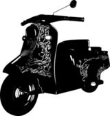 Moped — Stock Vector