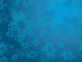 Background with snowflake — Stock Vector