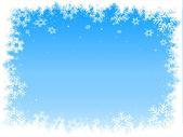 Snowflake border — Stock Vector